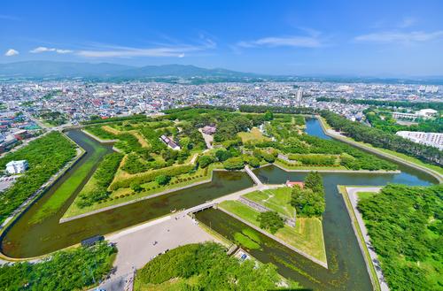 北海道・函館の五稜郭