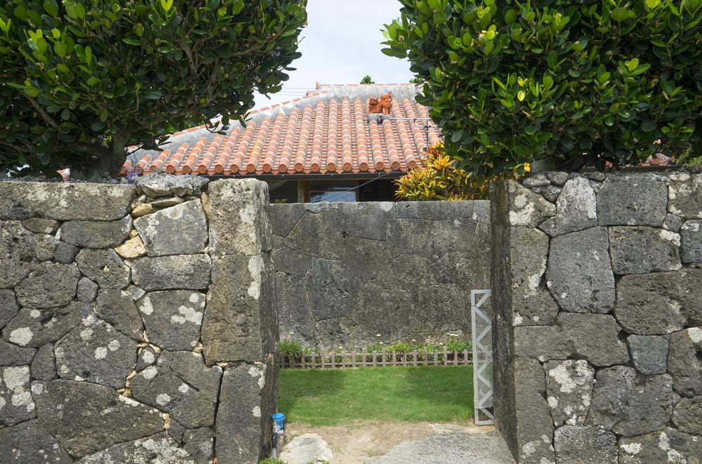 久高島の家
