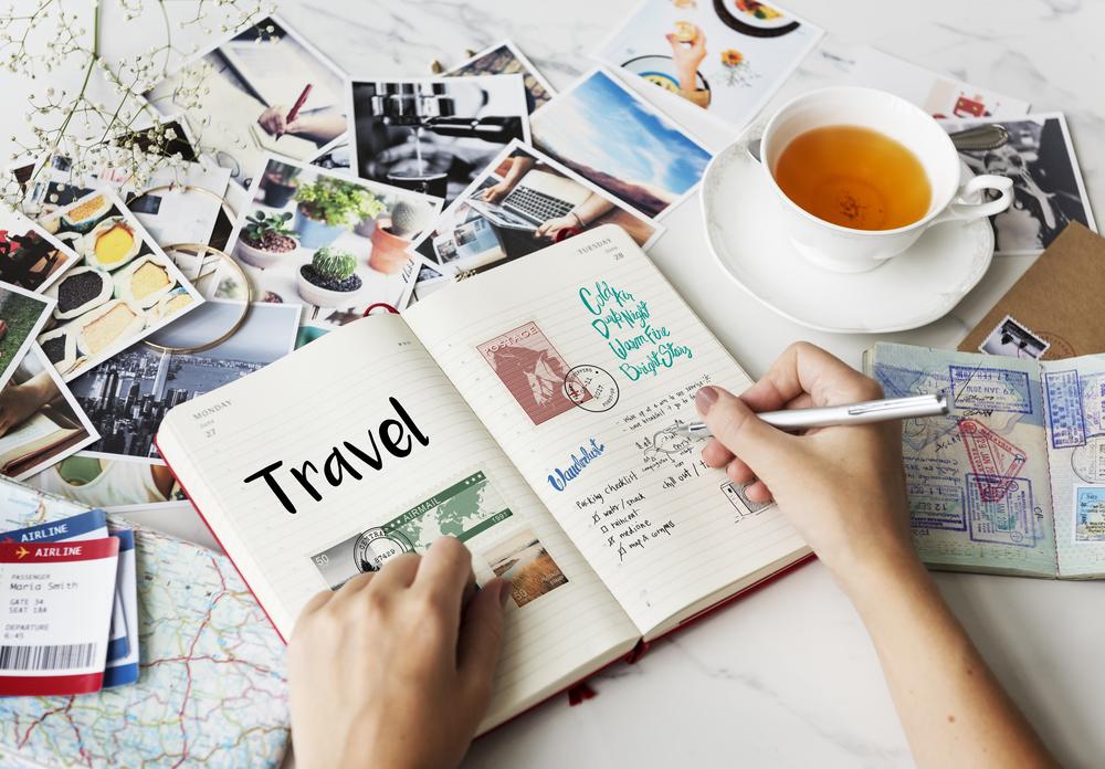 旅行ノート