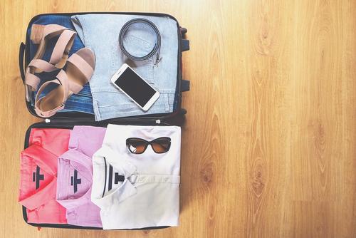 旅行の荷造り