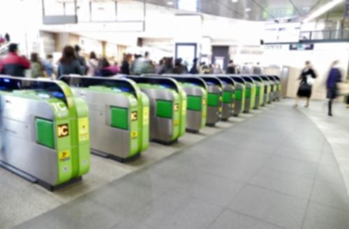 JR新宿駅改札
