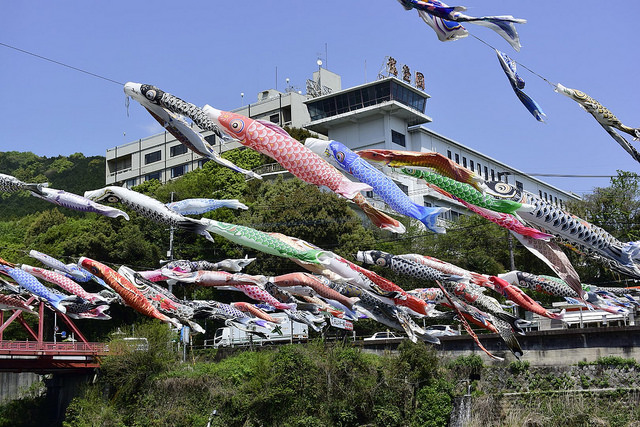 川上峡春祭り