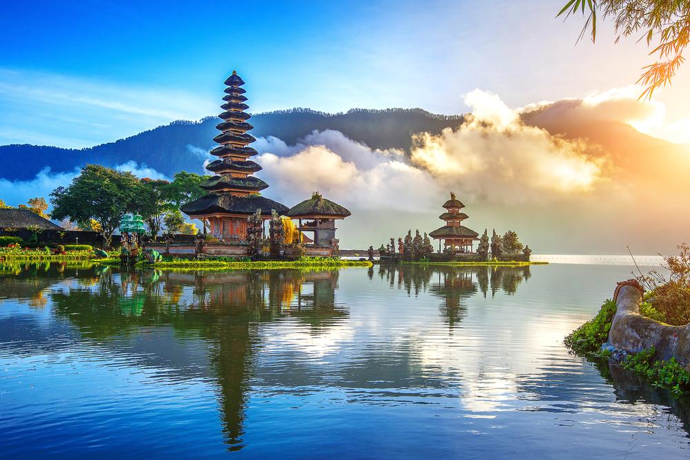 バリ島の寺院