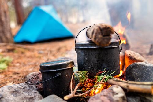調理に火を使う