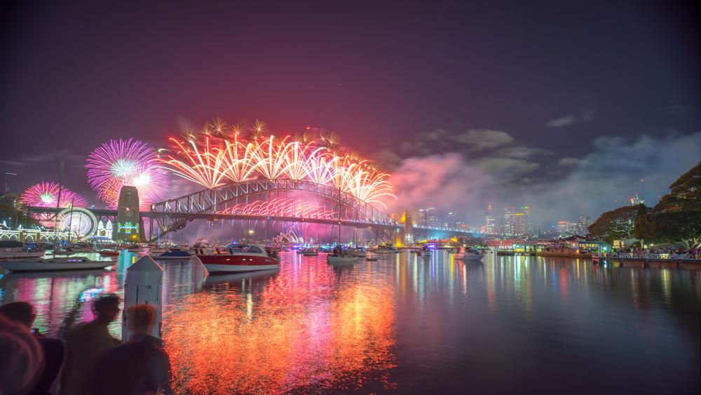 シドニー 新年