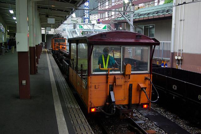 黒部渓谷_トロッコ列車