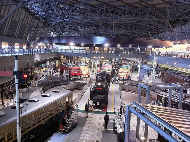 鉄道博物館(埼玉)