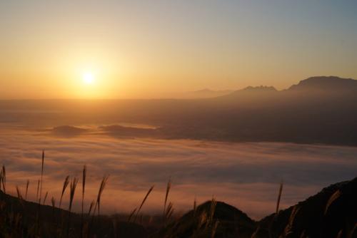 阿蘇山の雲海
