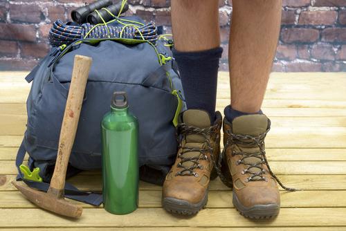 探検の装備