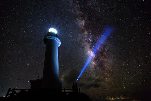 石垣島から眺める銀河
