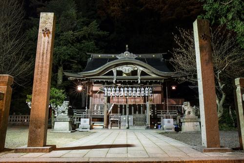 四所神社(城崎町湯島)
