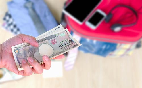 旅行のお金