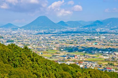 金刀比羅神社からの眺め