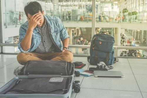 旅行中のトラブル