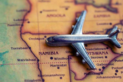 ナミビア_フライト