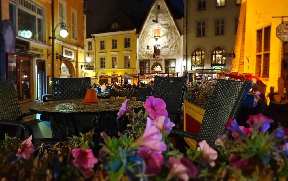 エストニア夜道