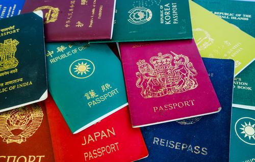 たくさんのパスポート