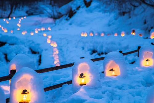 湯西川温泉 かまくら祭